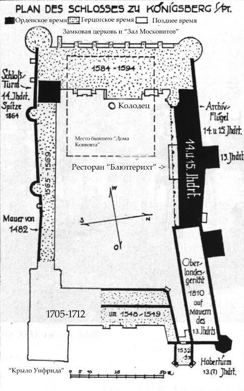 План Королевского замка