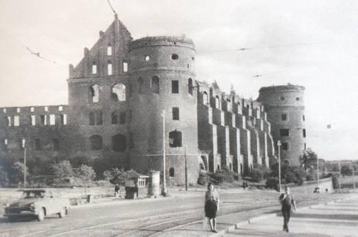 замок кенигсберг калининград фото